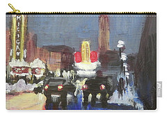 Night Around Michigan Theater Carry-all Pouch