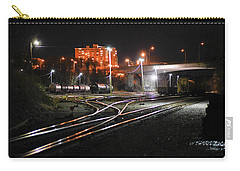 Night At The Railyard Carry-all Pouch