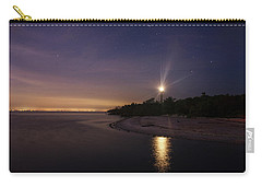 Night At The Sanibel Lighthouse Carry-all Pouch