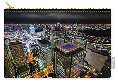 Night At Tokyo Metropolitan Government Building Carry-all Pouch