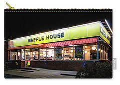 Night At Waffle House Carry-all Pouch