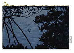 Carry-all Pouch featuring the photograph Night Banana Spider by Megan Dirsa-DuBois