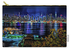Carry-all Pouch featuring the photograph Night Beauty by Theodore Jones