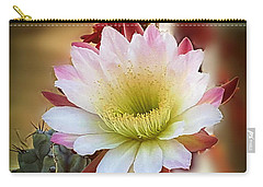 Carry-all Pouch featuring the photograph Night-blooming Cereus 2 by Marilyn Smith