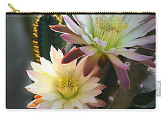 Carry-all Pouch featuring the photograph Night-blooming Cereus 3 by Marilyn Smith