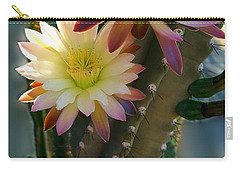 Carry-all Pouch featuring the photograph Night-blooming Cereus 4 by Marilyn Smith