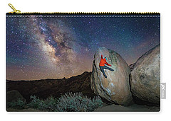 Night Bouldering Carry-all Pouch by Evgeny Vasenev