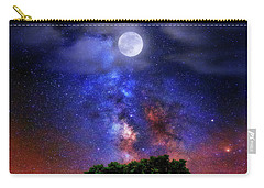 Night Colors Carry-all Pouch by Justin Kelefas