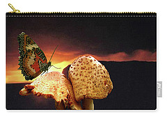 Carry-all Pouch featuring the photograph Night Fall by Donna Brown