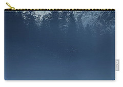 Carry-all Pouch featuring the photograph Night Falls Upon Half Dome At Yosemite National Park by Jetson Nguyen