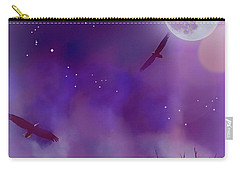 Carry-all Pouch featuring the photograph Night Flight Dream by Ken Frischkorn