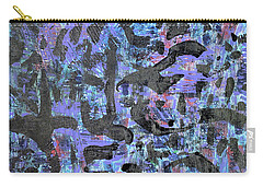 Carry-all Pouch featuring the painting Night Flight by Pam Roth O'Mara