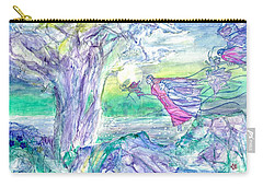 Night Flight Carry-all Pouch by Veronica Rickard