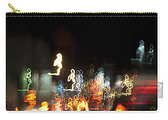 Night Forest - Light Spirits 1 Of 1 Carry-all Pouch