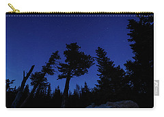 Carry-all Pouch featuring the photograph Night Giants by Margaret Pitcher