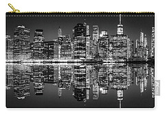 Carry-all Pouch featuring the photograph Night Grooves by Az Jackson