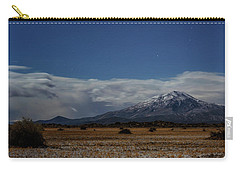 Carry-all Pouch featuring the photograph Night In The Alvord Desert by Cat Connor