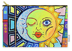 Night Kisses Daylight Carry-all Pouch by Jeremy Aiyadurai