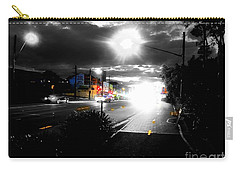 Night Lights And Ufos Carry-all Pouch