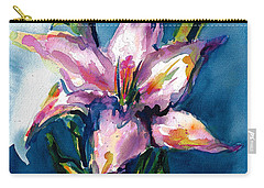 Night Lily Carry-all Pouch