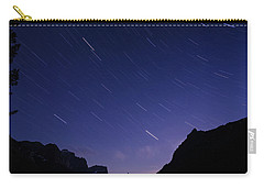 Carry-all Pouch featuring the photograph Night Moves by Margaret Pitcher
