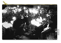 Carry-all Pouch featuring the photograph Night Music by Felipe Adan Lerma