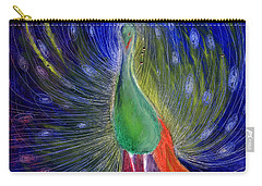 Night Of Light Carry-all Pouch by Nancy Moniz