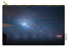Carry-all Pouch featuring the photograph Night Of The Milky Way by Mark Andrew Thomas