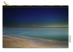 Night On Sanibel Island Beach Carry-all Pouch by Greg Mimbs