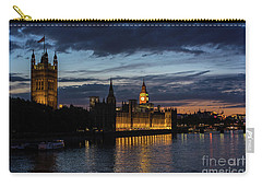 Night Parliament And Big Ben Carry-all Pouch