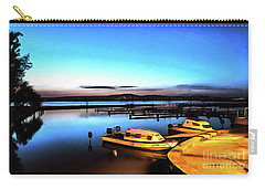 Night Port Painting Carry-all Pouch