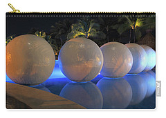 Carry-all Pouch featuring the photograph Night Reflections by Shane Bechler
