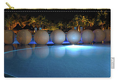 Carry-all Pouch featuring the photograph Night Resort by Shane Bechler