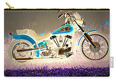 Carry-all Pouch featuring the photograph Night Rider by Joyce Dickens