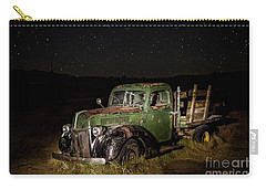 Carry-all Pouch featuring the photograph Night Run by Charles Garcia