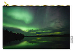 Carry-all Pouch featuring the photograph Night Show by Yvette Van Teeffelen