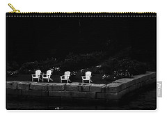 Carry-all Pouch featuring the photograph Night Sitting by Richard Bean