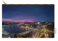 Carry-all Pouch featuring the photograph Night Sky by Bruno Rosa