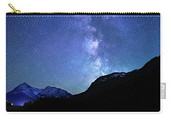 Night Sky In David Thomson Country Carry-all Pouch by Dan Jurak