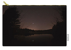 Night Sky Over The Pond Carry-all Pouch