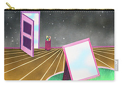 Carry-all Pouch featuring the painting Night by Thomas Blood