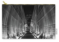 Night Time At Empty Sky Memorial Carry-all Pouch