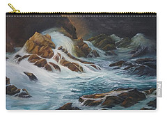 Night Time Sea Carry-all Pouch