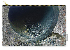 Carry-all Pouch featuring the mixed media Night by Tony Rubino