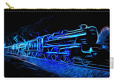 Carry-all Pouch featuring the photograph Night Train To Romance by Aaron Berg