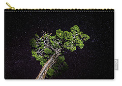 Carry-all Pouch featuring the photograph Night Tree by T Brian Jones