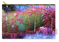 Night Trees Starry Lake Carry-all Pouch