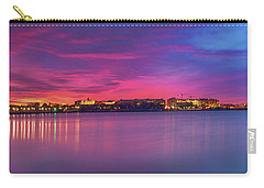 Carry-all Pouch featuring the photograph Night Unto Day by Edward Kreis