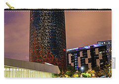 Night View Of Torre Agbar Carry-all Pouch