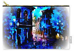 Night Walking In New Orleans Carry-all Pouch
